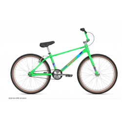 "2020 HARO LINEAGE LEGENDS DMC 24 INCH MASTER BIKE GREEN 24"" DENNIS MCCOY"