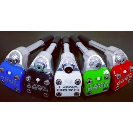 HARO GROUP 1 ONE SHAFTED 1 INCH STEM OLD SCHOOL black blue green white red