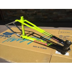 2017 HARO MASTER LINEAGE FRAME CHROME BLACK YELLOW 20.5 20.75 21