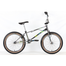 DEPOSIT PRE ORDER Haro 2021 Lineage Ground Master Complete Bike CHROME 19.5""