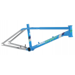 "HARO 2016 SPORT LINEAGE 20.75 BLUE CHROME 20.75"" TT"