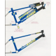 "2017 HARO MASTER FLATLAND EDITION FRAME 19.5 19.5"" CHROME BLACK BLUE"