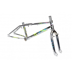 PRE ORDER DEPOSIT 2021 HARO CHROME GROUND MASTER FRAME FORK KIT 20.5 19.5