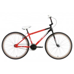 HARO GROUP 1 MIKE KING RS2 26 INCH COMPLETE BIKE RED BLACK