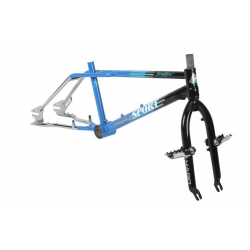 HARO 2018 1988 VINTAGE  REPLICA SPORT BLACK BLUE CHROME FRAME FORK KIT 2018
