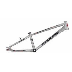 "2015 REDLINE FLIGHT EXPERT 24 RACE FRAME GREY BMX RACE R7 BIKE 24"" CRUISER 20.4"