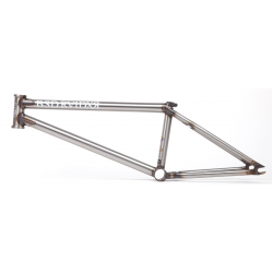 BSD RAIDER FRAME CLEAR COAT RAW 21 DAVID GRANT 21""