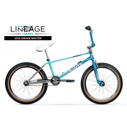 2018 HARO MASTER COMPLETE BMX BIKE TEAL MINT TURQUOISE CHROME