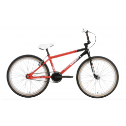 HARO GROUP 1 RS2 MIKE KING 24 INCH COMPLETE BIKE RED BLACK