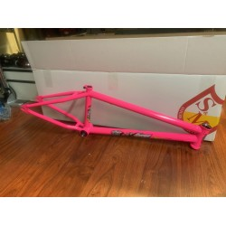 S&M BIKES MIKE HUCKER FRAME HOT PINK 20.75