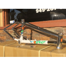 COLONY OZONE OZ ONE FRAME WHITE CHROME 19.5 20.5 21 BMX METHOD ONE AIR 2019