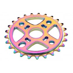 PRIMO BMX OIL SLICK NEYER 25 T SPROCKET 25T RAINBOW TRIPPY DIG BMX BIKE CHAIN