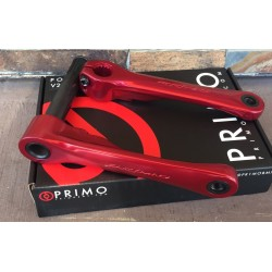 PRIMO BMX POWERBITE V2 CRANKS RED 170 CRANK SET 22 22MM MM 170MM HOLLOWBITE