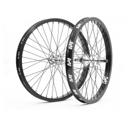 "REVENGE COMPLETE 22 INCH WHEEL SET WHEELS 22"" BLACK SILVER"