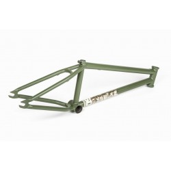 BSD SOULJA 20.6 SURPLUS GREEN DAN PALEY BMX BIKE FRAME 20.6""