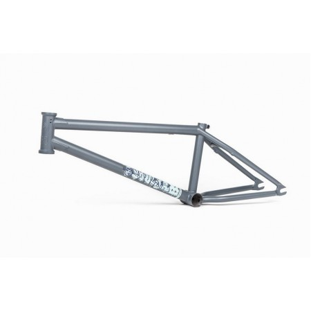 BSD SOULJA 21.2 MATTE GREY DAN PALEY BMX BIKE FRAME