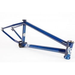 S&M 22 INCH ATF FRAME 22.125 TRANS BLUE