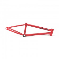 CULT CREW OS 18 FRAME RED BMX