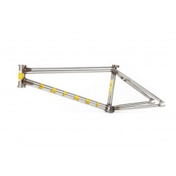 BSD SAFARI 21.4 CLEAR COAT RAW REED STARK BMX BIKE FRAME