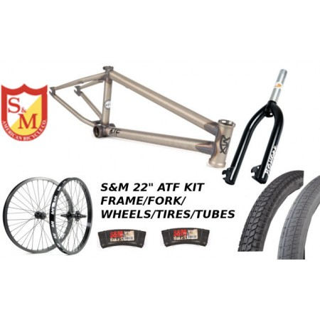 "S&M 22 INCH ATF FRAME 22.125 PRIMER CLEAR RAW 22"" KIT"