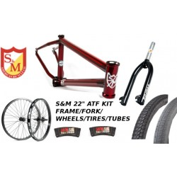 "S&M 22 INCH ATF FRAME 21.625 TRANS RED 22"" KIT"