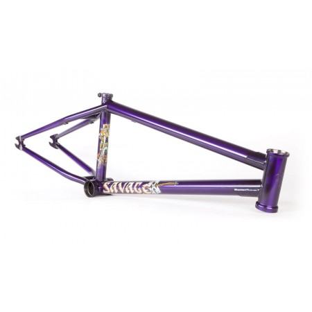 FIT BIKE CO SAVAGE FRAME 21 TRANS MATTE PURPLE MATT NORDSTROM EDITION
