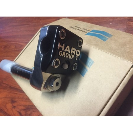 """HARO 2017 GROUP 1 BLACK STEM 1 INCH SHAFTED QUILL ONE 1"""""""