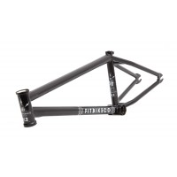 "FIT WIFI V.2 MATTE BLACK FRAME 21.25 BMX BIKE CO 21.25"" V2"