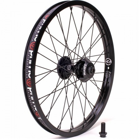 PRIMO BMX REMIX CASSETE V2 REAR WHEEL BLACK LHD 9 T BLACK LEFT 14 MM