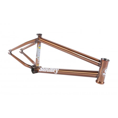 SUNDAY BIKES Excelsior FRAME 20.75 TRANS CREAM SODA MARK BURNETT