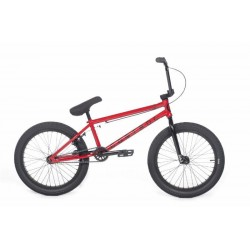 2018 CULT CREW CONTROL 20.75 RED WINE COMPLETE BMX BIKE