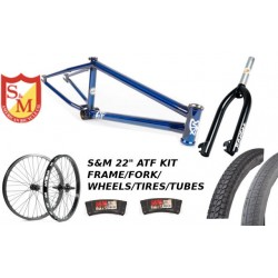 "S&M 22 INCH ATF FRAME 21.625 TRANS BLUE 22"" KIT"