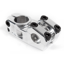 S&M BIKES RACE XLT STEM POLISHED SILVER 55