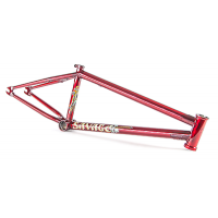 "FIT BIKE CO SAVAGE FRAME 21 TRANS RED MATT NORDSTROM EDITION 21"" BMX BIKES"