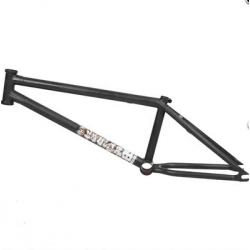 BSD SOULJA 20.9 MATT BLACK BMX BIKE FRAME