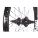 DEMOLITION BMX ROTATOR V3 FREECOASTER REAR WHEEL LHD BLACK LEFT