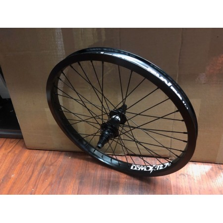 DEMOLITION BMX ROGUE CASSETTE REAR WHEEL RHD BLACK