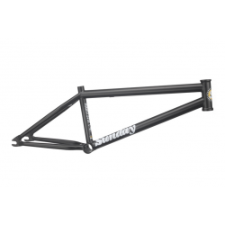 SUNDAY BIKES NIGHTSHIFT FRAME 21.25 MATTE RUST PROOF BLACK