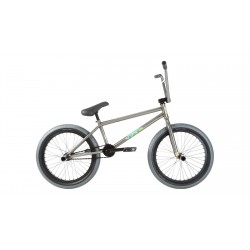 2019 FIT BIKE CO BEGIN FC 20.75 GLOSS CLEAR COMPLETE BRANDON BEGIN BMX BIKE