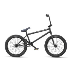 WE THE PEOPLE 2019 CRYSIS 20.5 MATTE BLACK COMPLETE BMX BIKE