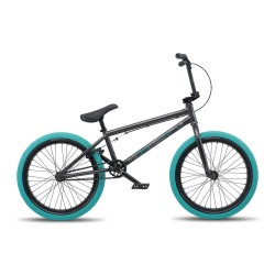 WE THE PEOPLE 2019 CRS 20.25 MATTE ANTHRACITE COMPLETE BMX BIKE