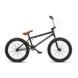 WE THE PEOPLE 2019 CRS 18 MATTE BLACK COMPLETE BMX BIKE
