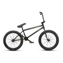 WE THE PEOPLE 2019 REASON 20.75 MATTE BLACK COMPLETE BMX BIKE