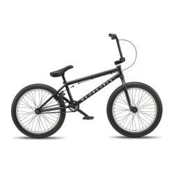 WE THE PEOPLE 2019 ARCADE 20.5 MATTE BLACK COMPLETE BMX BIKE