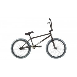2019 FIT BIKE CO MORGAN LONG 20.75 TRANS BLACK COMPLETE BMX BIKE