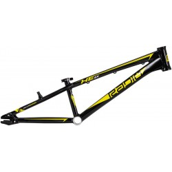 "RADIO BIKE CO HELIUM JUNIOR 20"" BLACK 18.6 TT BMX RACE BIKE FRAME"