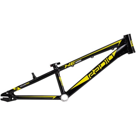 "RADIO BIKE CO HELIUM MINI 20"" BLACK 17.6 TT  BMX RACE BIKE FRAME"