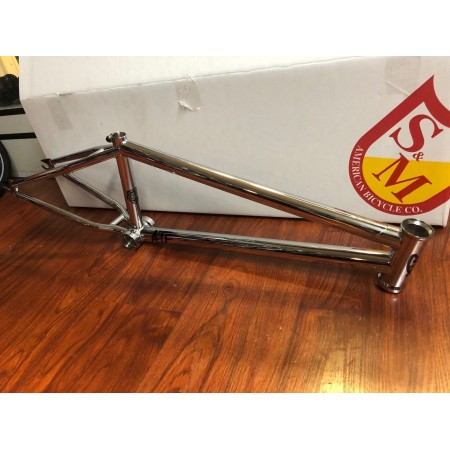 S&M BIKES ATF FRAME CHROME 20 20""