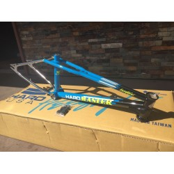 HARO 2017 MASTER FLATLAND FRAME BLUE BLACK CHROME 19.5