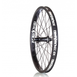 DEMOLITION BMX GHOST V2 FRONT COMPLETE WHEEL BLACK 3/8 36 DOUBLE WALL